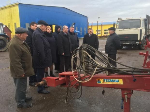 Выездное заседание Постоянной комиссии по аграрной политике. г.Гродно.