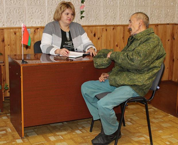 д.Заполье Витебского района. Приём граждан по личным вопросам.