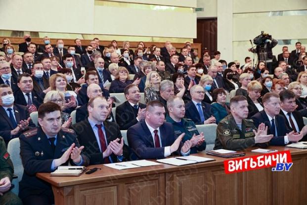 Собрание участников VI Всебелорусского народного собрания от Витебской области