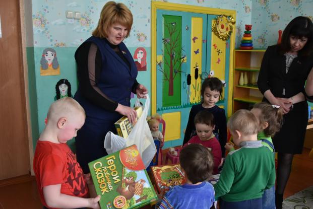 Вировлянский детский сад-начальная школа. Городокский район.
