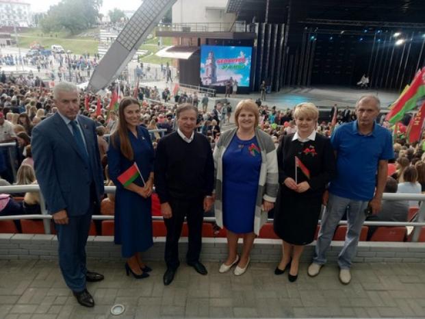 20 августа 2020 года. г. Витебск.  Акция в поддержку мира, безопасности и спокойствия в Беларуси.
