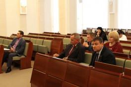 На заседании по проекту Закона «О селекции и семеноводстве сельскохозяйственных растений».