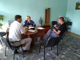 Приём граждан в Железнодорожном районе г.Витебска.